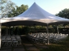 30x30 Century tent w ceremony set up